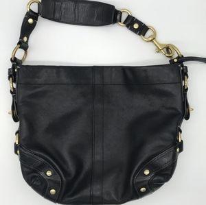 Luxury Leather COACH CARLY style handbag.